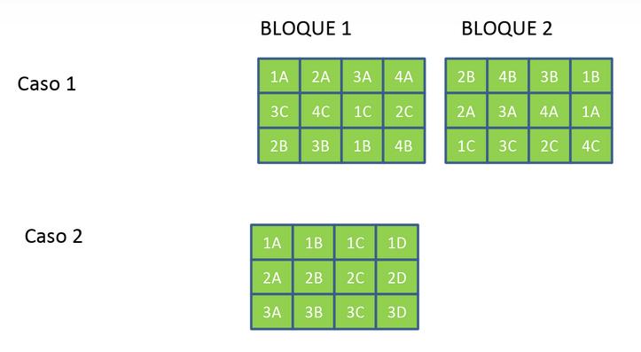diseño en split plot